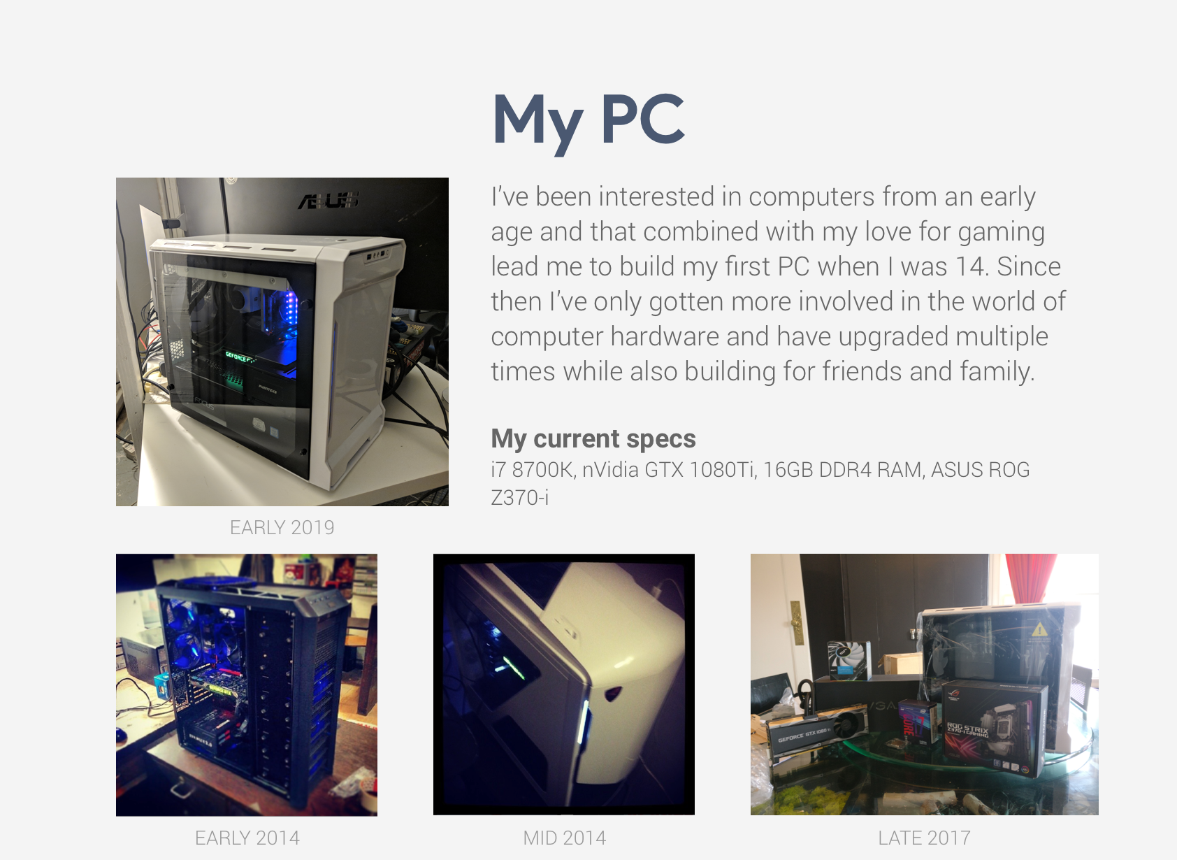 about pc
